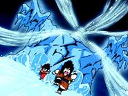 Yajirobe and Goku!