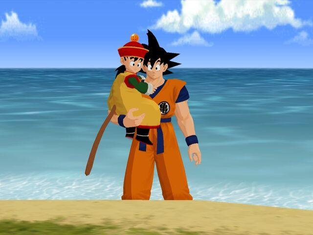 File:Goku Gohan 2 Budokai.jpg