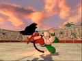 BT3Tien trips Kid Goku