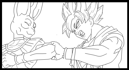 File:Battle of Gods drawn by The Cerebral Assassin.jpg