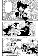Goku defeats the other Rabbit Mob member
