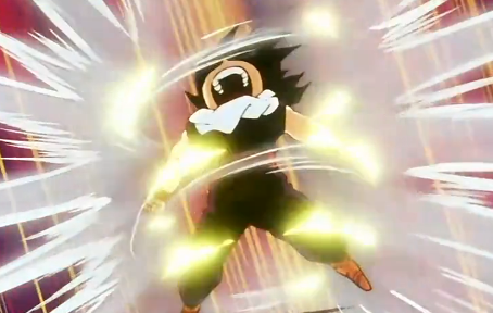 File:Gohan powers up to fight Garlic Jr. Saga.png
