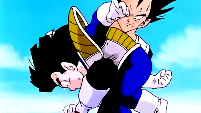 File:Vegeta kneed gohan in the sotmach.png
