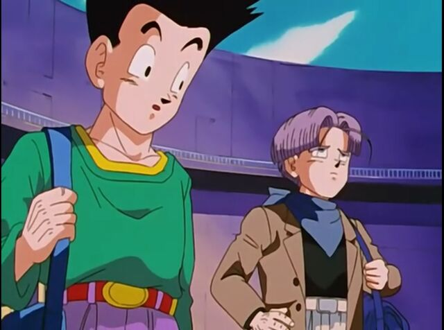 File:Goten and trunks going to the Spaceship.jpg