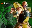 Nappa XV2 Character Scan