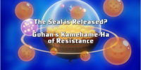 The Seal is Released? Gohan's Kamehame-Ha of Resistance