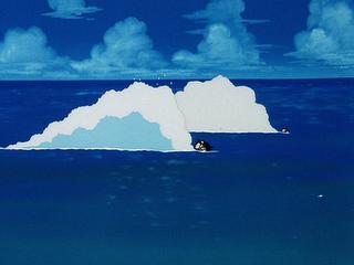 File:Goku,Krillin Swiming.png