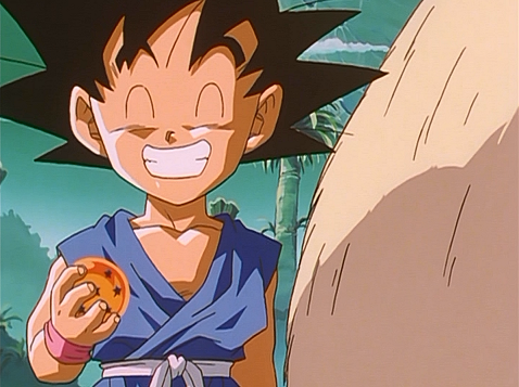 File:Goku Happy With The Dragon Ball.png