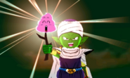 DB Fusions Namekian Demon King Moolin Poop Toss (Special Move - Pic 2)