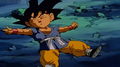 Kid goku kncoked out by mouma3