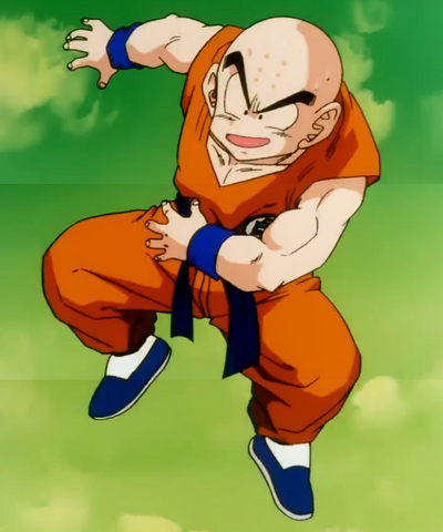 File:Gohan, Defeat Your Dad!! - Krillin confident.png