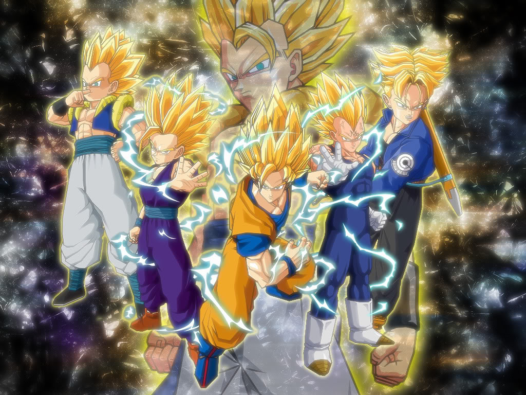 Manycam effect super saiyan hair -  21 Image The Super Saiyans Wallpaper 6zksajpg Dragon
