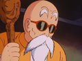 Roshi assessing the situation