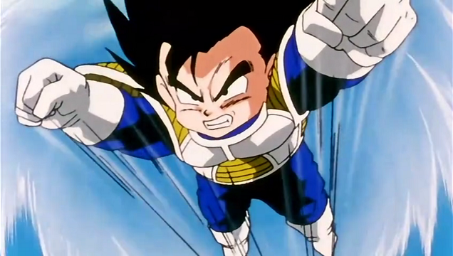 File:Gohan flying to meet Frieza.png