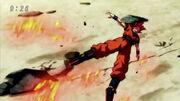 SSG Goku clothes color error