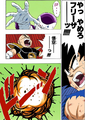 DBZ Manga Chapter 317 - Frieza kills Krillin w I Won't Let You Escape With Your Life!