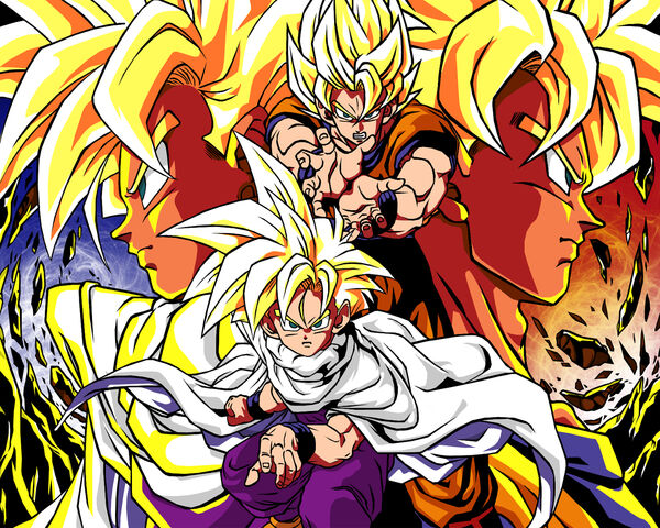 File:Son Goku Son Gohan Wallpaper-672589.jpeg