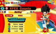 KF EX Gogeta (EX Gotenks)