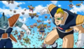 Frieza's 1000 soldiers army Recoome-like soldier charges at Krillin, Resurrection 'F', IsraeliteVIP pic snap