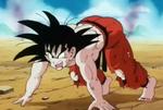 GokuPreparesMeteorCombination