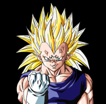 File:212px-Majin vegeta ssj3 by db own universe arts-d37bknm.png