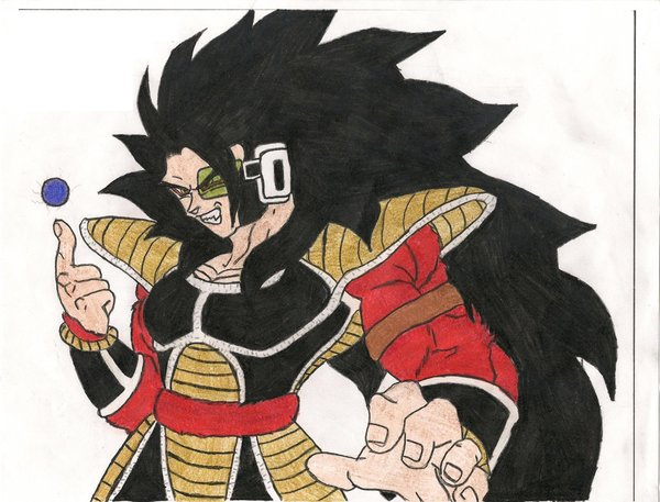 File:Super Saiyan 4 Raditz by sylargrey11.jpg