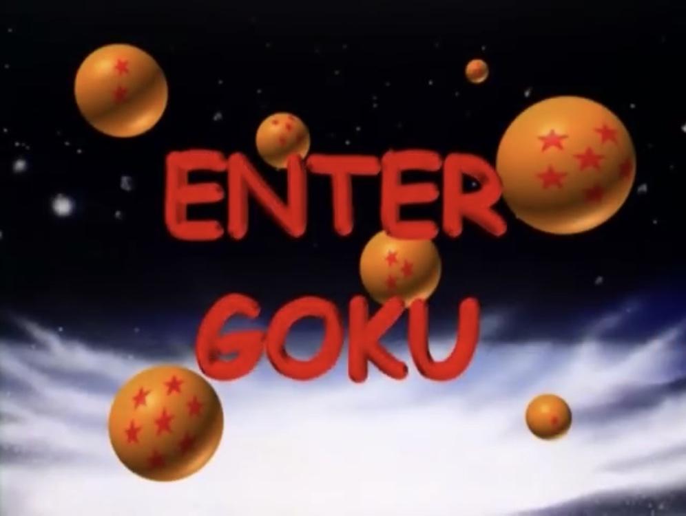 Enter Goku