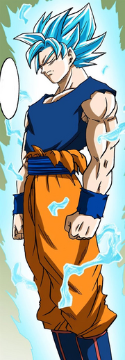 Completed Super Saiyan Blue