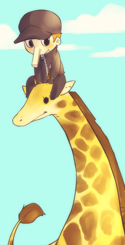 File:Kaku and a giraffe and the sky by 021.png