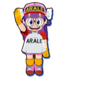 Dragon Ball Fusions-Arale