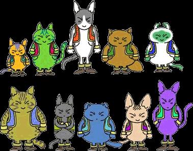 Chủng tộc mèo Neko Majin