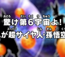 Observe, 6º Universo! Este é o Super Saiyajin! Son Goku!