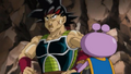 Bardock and Berry eat together