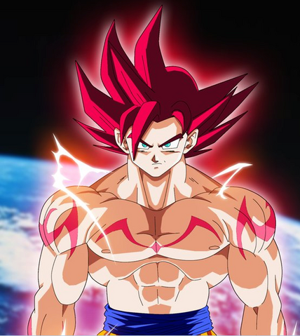 File:Dragon Ball-Goku SSJ GOD.png