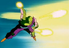 Power of the Spirit - Piccolo attacks Frieza Again