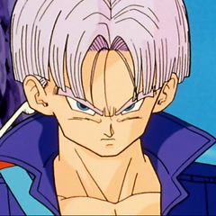 Trunks in Dragon Ball Z e Dragon Ball Super.