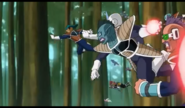 Frieza soldiers about to blast Krillin from behind, Resurrection 'F', IsraeliteVIP pic snap