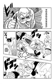 Master Roshi goes on a rampage against the Red Ribbon Amry soldiers