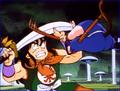 Goku Fights Yamcha