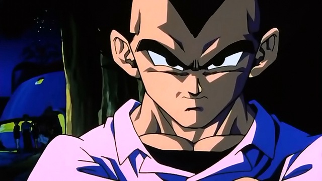 File:Vegeta in Celebrations with Majin Buu.png