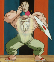 Super Saiyan Max Power Roshi