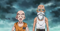 Krillin and Roshi - DBS27