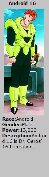Card Android 16