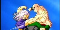 Future Trunks vs Tien Gallery