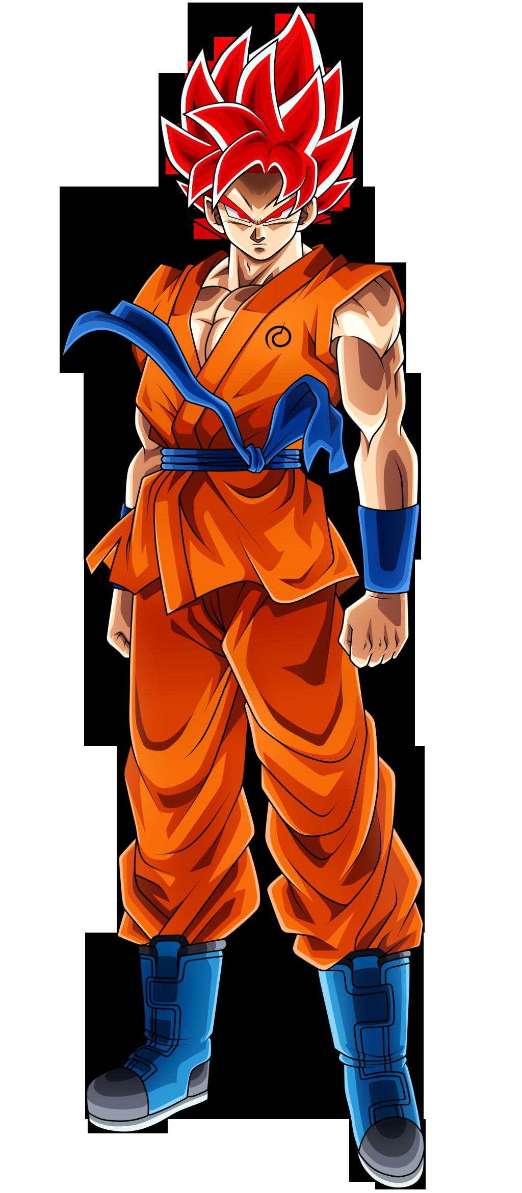 Imagen  Goku SSJ Dios Definitivopng  Dragon Ball Fanon Wiki
