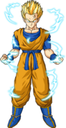 Future gohan ssj2 v2 by db own universe arts-d4gv5ik
