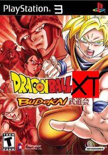 Dragon Ball XT Budokai PS3 Cover