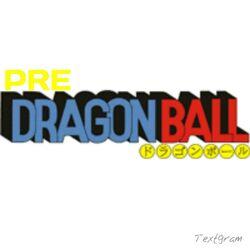 Pre Dragon Ball Logo