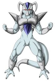 Concept art Freeza 5th form by Gothax