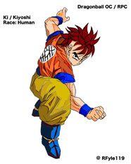 Ki - Ken Fighter coloured